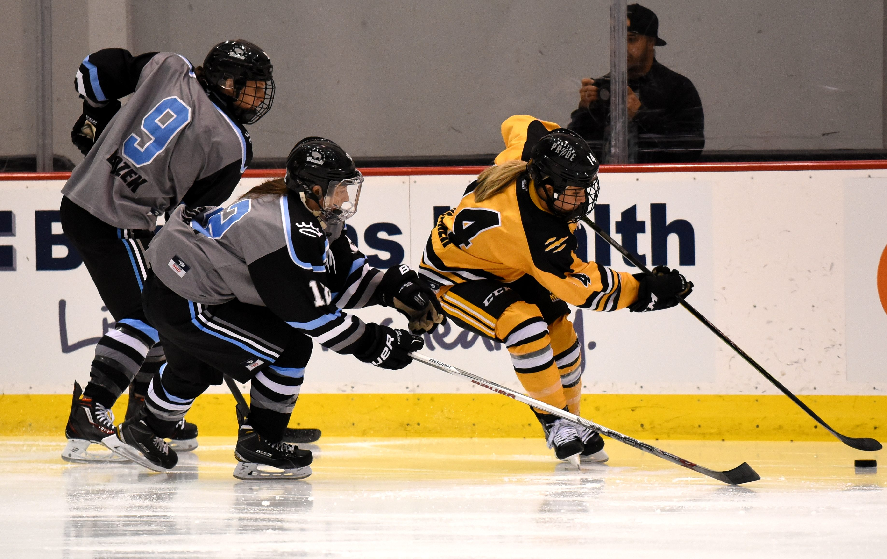 NWHL Isobel Cup Finals Game 1: Great Hockey, OT Heartbreaker