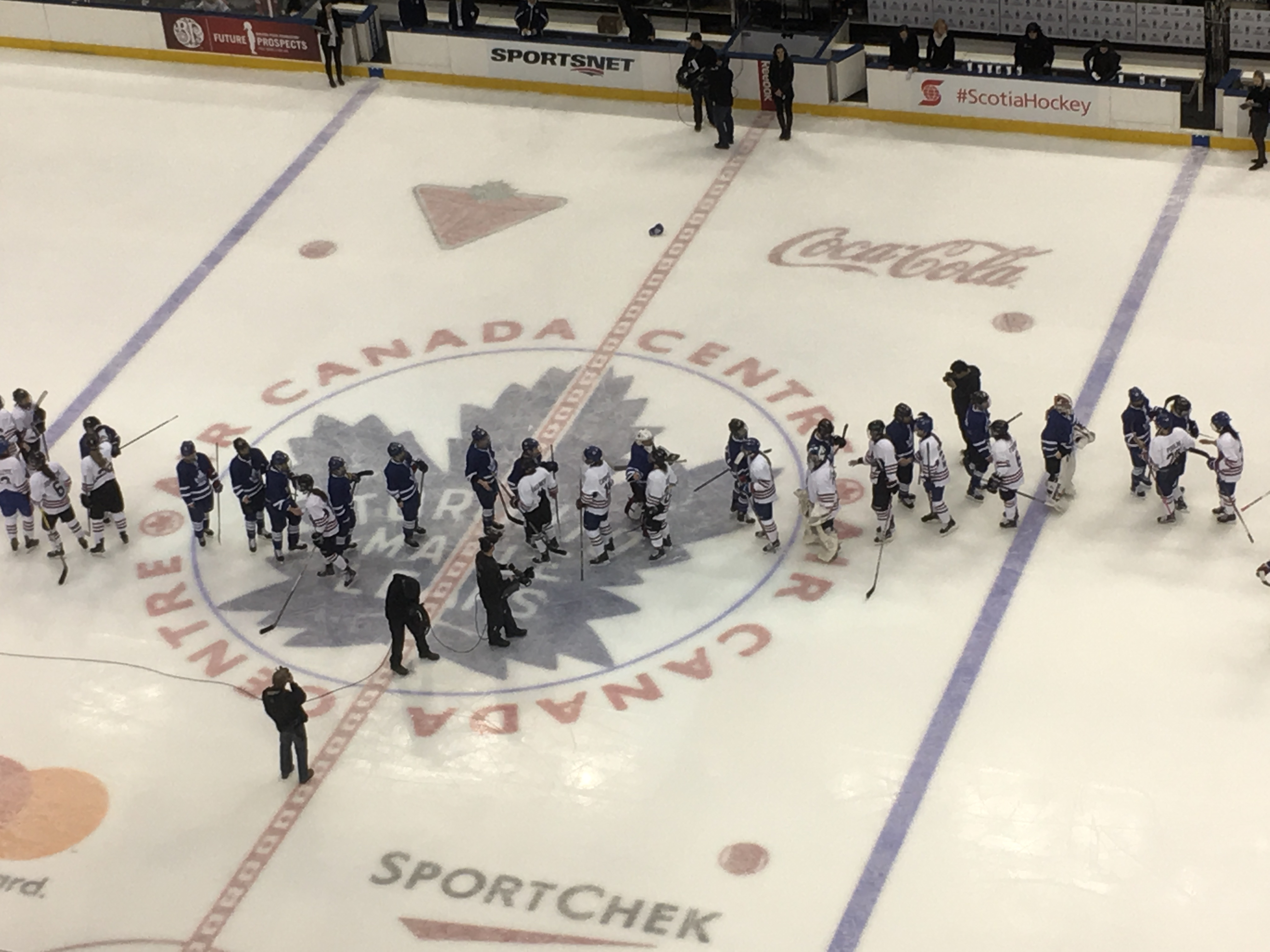 CWHL Showcases Skills With All-Star Game