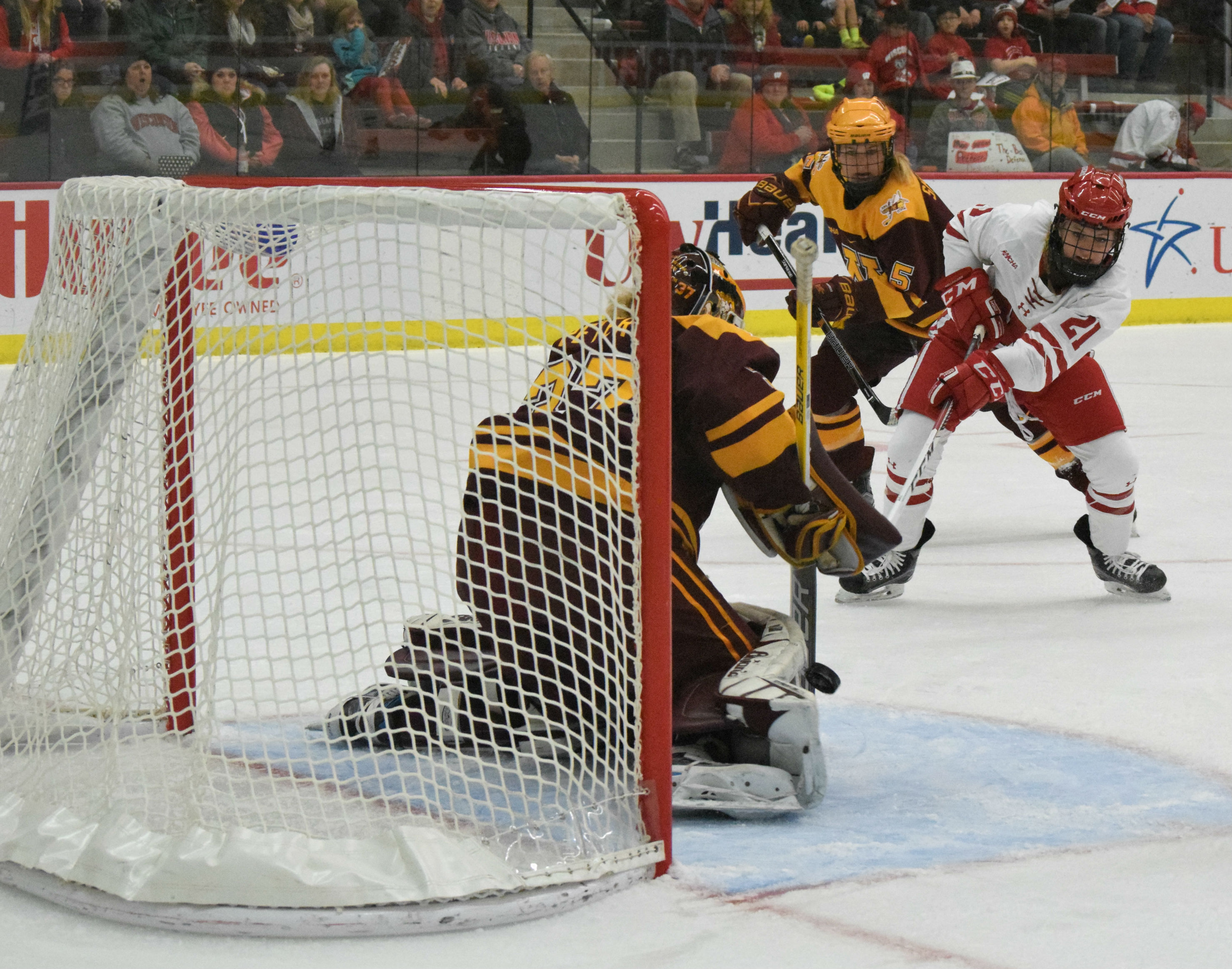 ncaa hockey the mind of a goalie with three of the best in the game