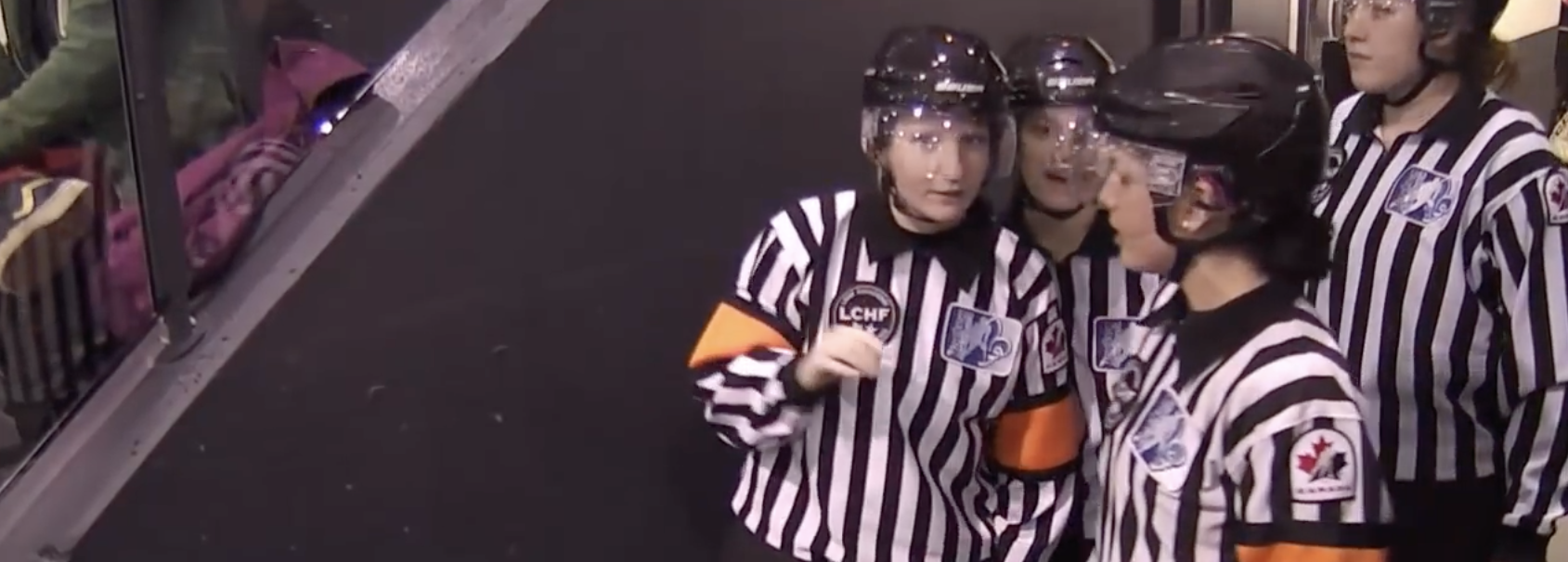 Female Officials Growing Their Own Game