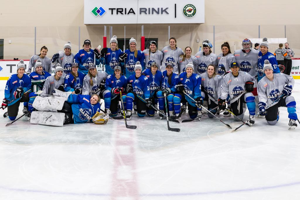 NWHL Entertains at All-Star Game
