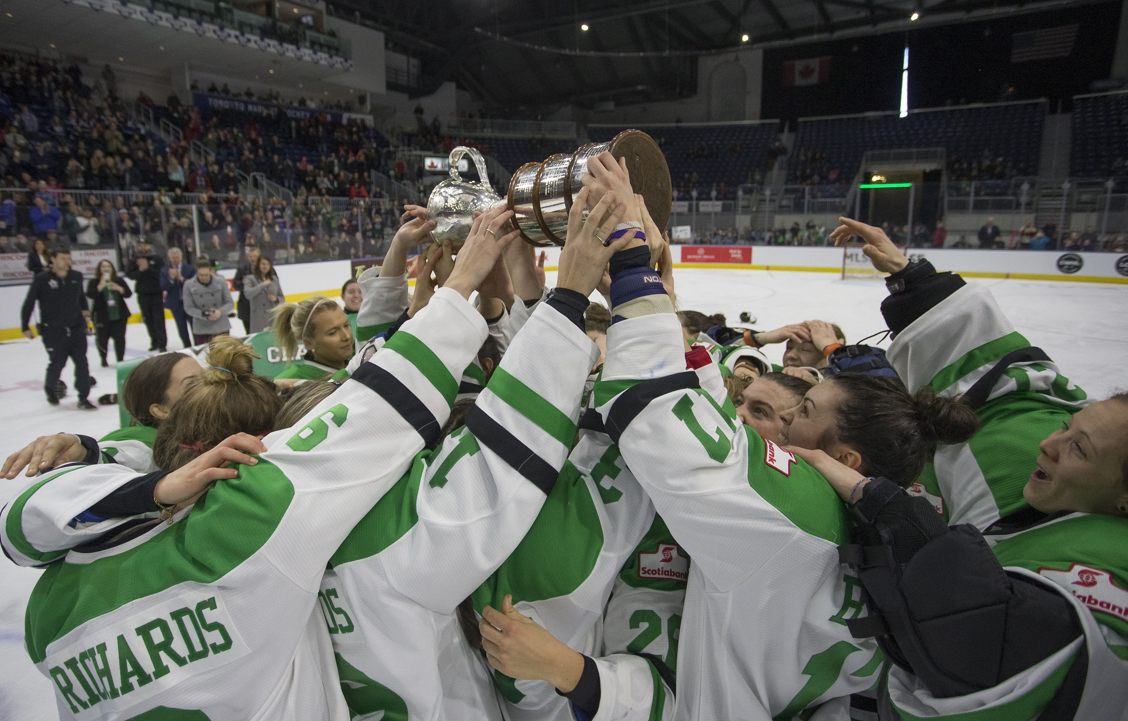CWHL: Markham Thunder Capture First Clarkson Cup