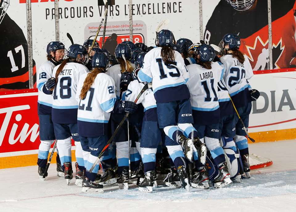Tight-Knit Team Quebec Takes on U18 Nationals