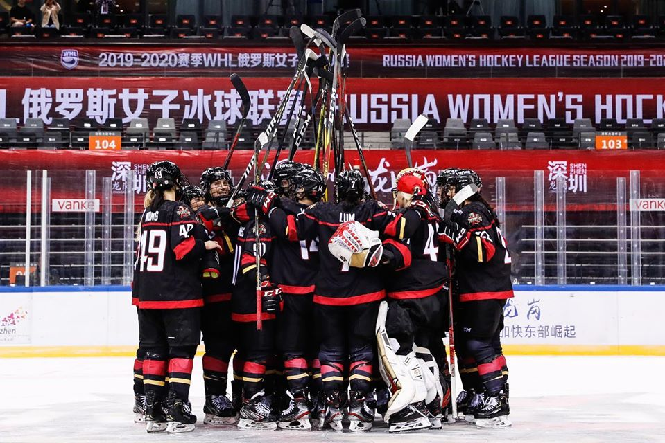 In Russia's Women's Hockey League, KRS Remains a Standard-Bearer