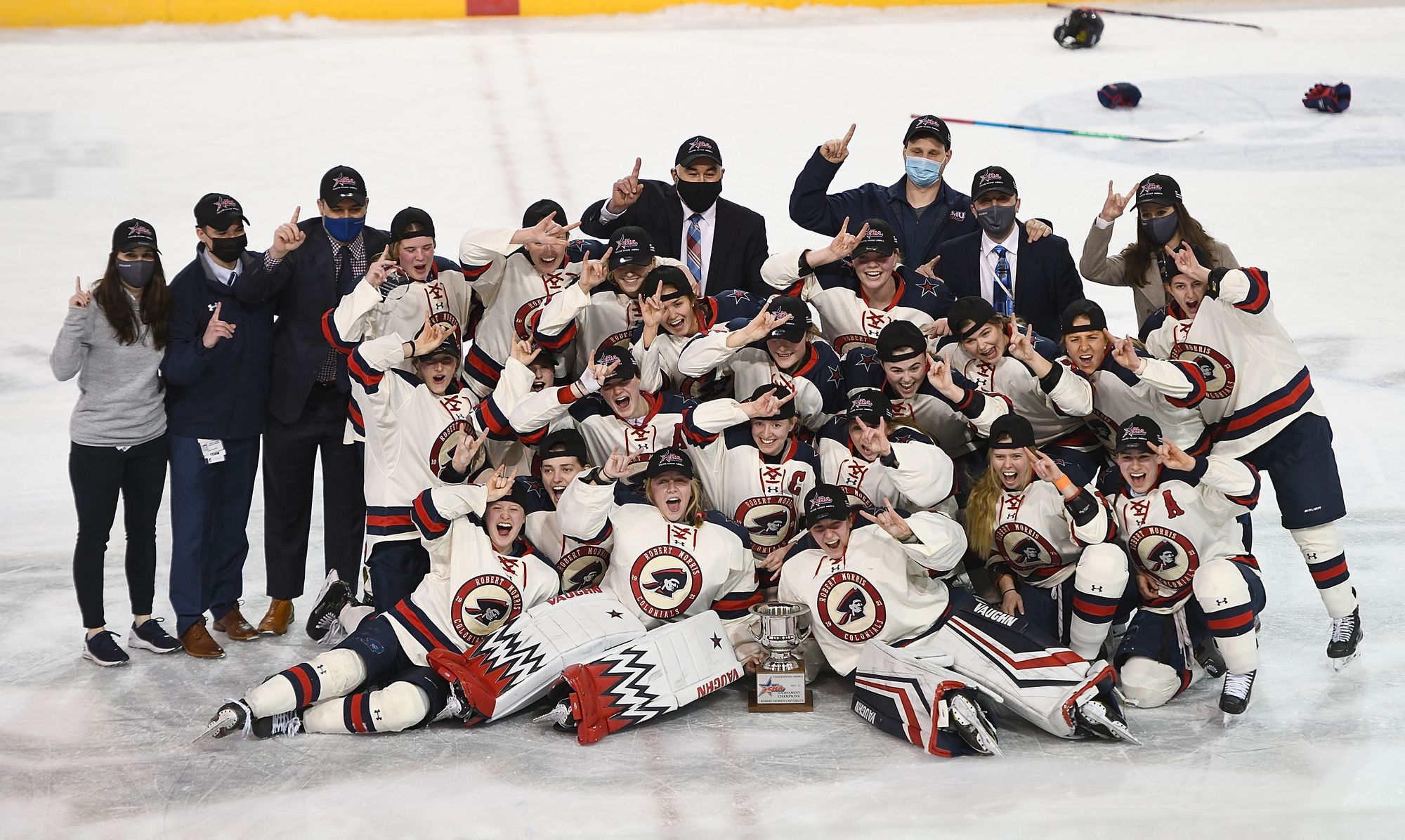Robert Morris Wins 2021 CHA Title